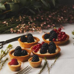Babeczki kruche z owocami